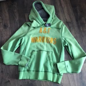 NWT men's Abercrombie and Fitch hoodie